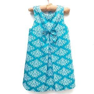 Janie and Jack   2T Girls Blue Sleeveless Dress